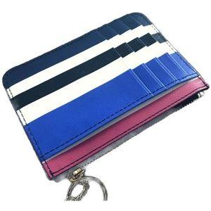 EUC kate spade Striped Cardholder Wristlet!